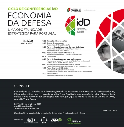 Ciclo de conferências idD - Braga | 23 de janeiro