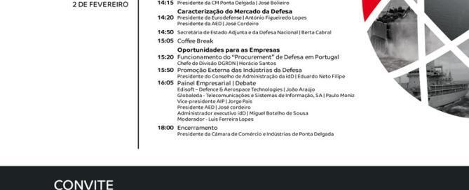Ciclo de conferências idD - Ponta Delgada | 2 de fevereiro