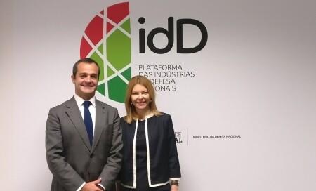 Visita da Embaixadora da Roménia em Portugal à idD