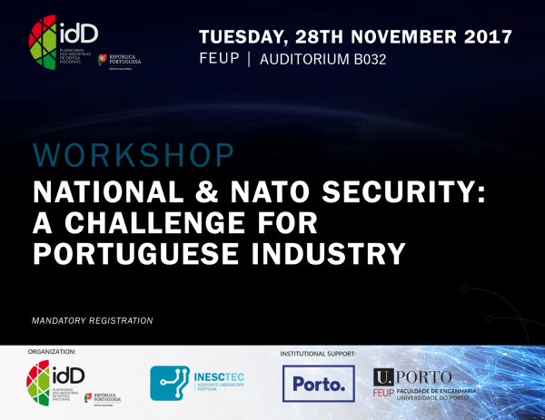 Workshop National and NATO Security: a challenge for Portuguese Industry