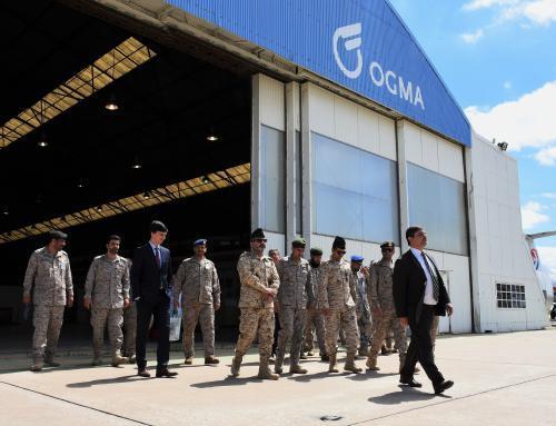 idD participa em visita de delegação militar da Arábia Saudita à OGMA