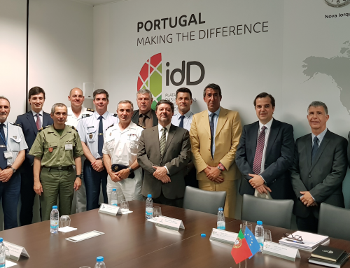 idD recebe militares indigitados para os Gabinetes do Adido de Defesa