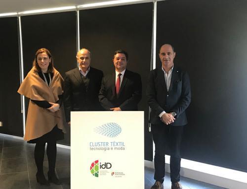 idD e CLUSTER TÊXTIL assinam protocolo para apoiar exportação dos têxteis técnicos portugueses