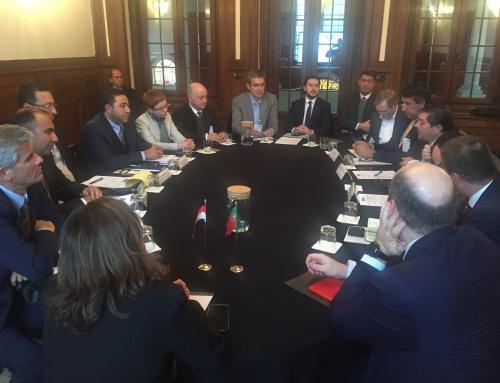 idD organiza reunião de entidades da BTID com delegação da República Árabe do Egito