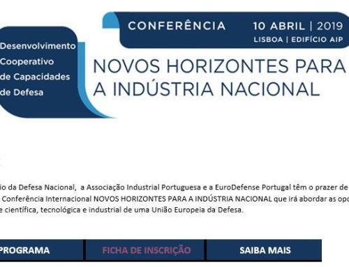 Conferência: Novos Horizontes para a Indústria Nacional