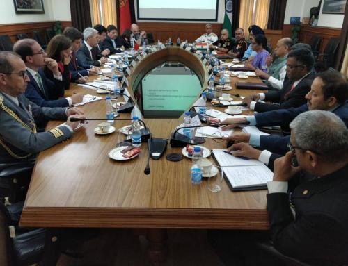 idD integrou visita oficial do Ministro da Defesa Nacional ao Egito e à Índia