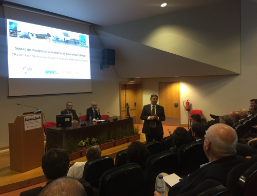 Sessão de divulgação à Indústria do Concurso Público CP1101 – NATO Armed Forces