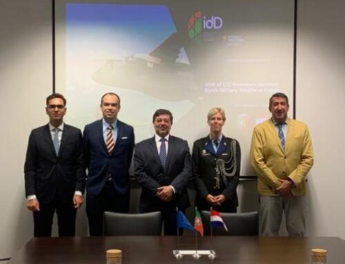 idD recebe Adida de Defesa dos Países Baixos em Portugal