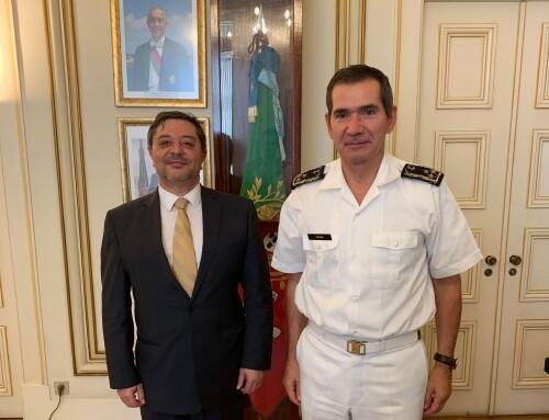 idD reúne-se com o Estado-Maior da Armada