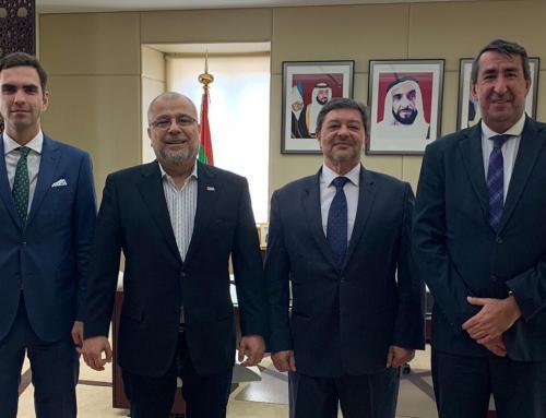 idD reuniu-se com o Embaixador dos Emirados Árabes Unidos em Portugal