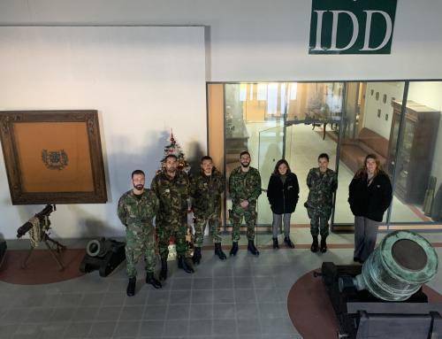 idD recebe alunos do Curso de Destruição de Munições do Exército