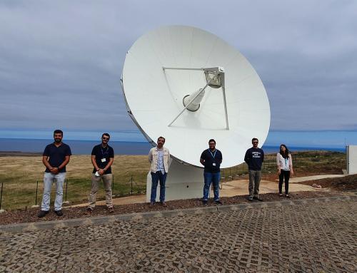 idD visita Teleporto Espacial na Ilha de Santa Maria