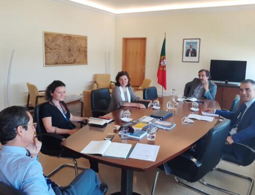 idD reúne com Diretor Geral de Politica da Defesa Nacional