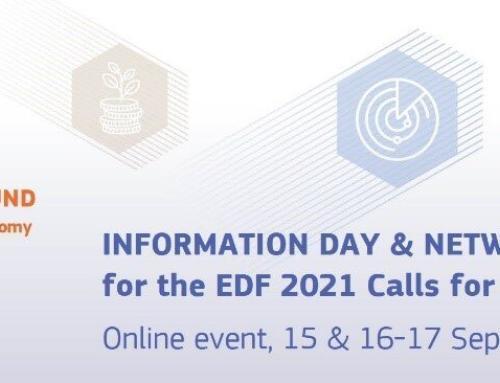 EDF Info Day and Networking Event de 15 a 17 de setembro de 2021