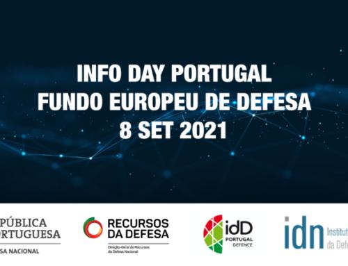 Info Day Portugal – Fundo Europeu de Defesa | 8 de setembro de 2021