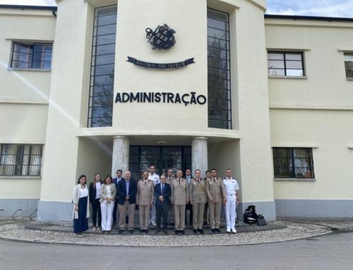Delegação do Egito visita Arsenal do Alfeite, ETI, EID, OGMA e Tekever