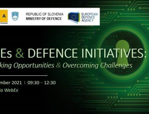 "Eslovénia organiza workshop sobre ""Iniciativas de Defesa – Desbloquear Oportunidades e Superar Desafios"""
